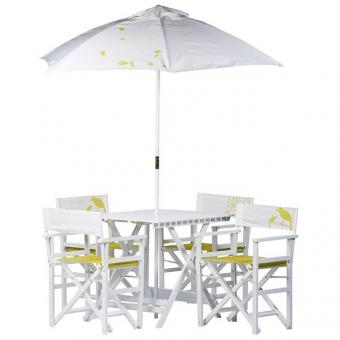 Diningset cantus, 6 tlg, weiss