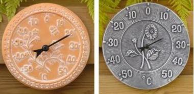 Thermometer Terracotta 30cm