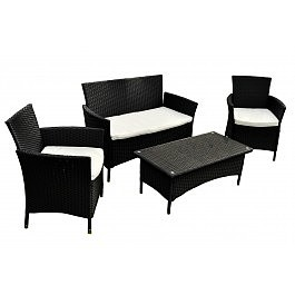Lounge Set Jamaica Black
